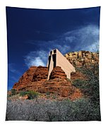 Arizona, Sedona  Chapel Of The Holy Cross Tapestry