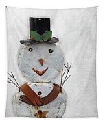 Arizona Snowman Tapestry