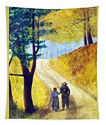 Arm In Arm Tapestry