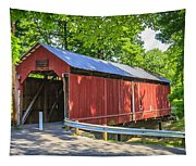 Armstrong/clio Covered Bridge Tapestry