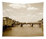 Arno River Florence Tapestry