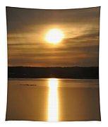 Arrowhead Lake Sunrise Tapestry