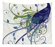 Art Nouveau Peacock I Tapestry