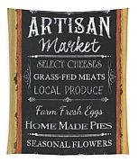 Artisan Market Sign Tapestry