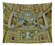 Artistic Ceilings Within The Vatican Museums In The Vatican City Tapestry