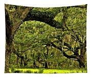 Artistic Live Oaks Tapestry