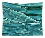 Aqua Ice Tapestry