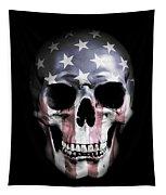 American Skull Tapestry