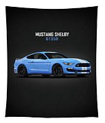 Mustang Shelby Gt350 Tapestry by Mark Rogan