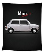 Mini Cooper S 1968 Tapestry by Mark Rogan
