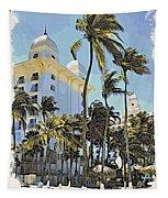 Aruba Palms Two Tapestry