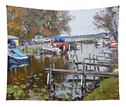 Ashville Bay Marina Tapestry