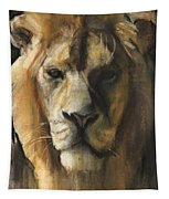 Asiatic Lion Tapestry