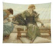 Ask Me No More....for At A Touch I Yield Tapestry