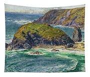 Asparagus Island Tapestry
