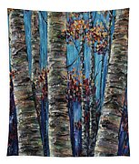 Aspen Forest In The Rocky Mountain Tapestry