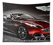 Aston Martin Vanquish Volante  Tapestry