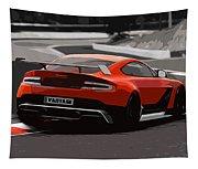 Aston Martin Vantage Gt12 - Trackday Tapestry