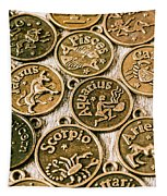 Astrology Charms Tapestry