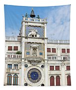Astronomical Clock At San Marco Square Tapestry