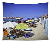 At Mondello Beach - Sicily Tapestry