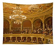 At The Budapest Opera Tapestry