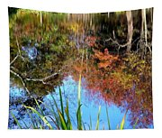 At The Pond Tapestry