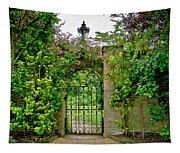 At The Secrete Gate To The Garden. Tapestry