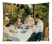 At The Tea-table Tapestry