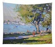 At Tonawanda Park By The River Tapestry