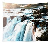 Waterfall Scene For Mia Parker - Sutcliffe L A S Tapestry