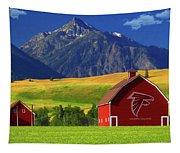 Atlanta Falcons Barn Tapestry