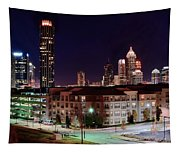 Atlanta From Above Tapestry