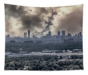 Atlanta Skyline Panoramic Tapestry
