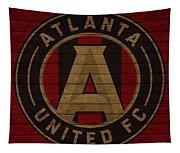Atlanta United Barn Door Tapestry
