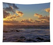 Atlantic Sunset Tapestry