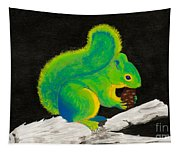 Atomic Squirrel Tapestry