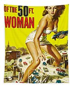 Attack Of The 50 Ft. Woman Poster Tapestry