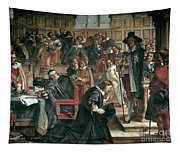 Attempted Arrest Of 5 Members Of The House Of Commons By Charles I Tapestry