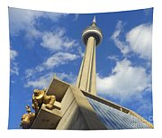 Audience Sculpture And The Cn Tower Tapestry