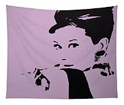 Audrey Pink Tapestry