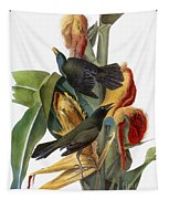 Audubon: Grackle Tapestry
