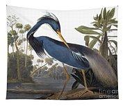 Audubon Heron, 1827 Tapestry