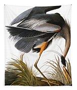 Audubon Heron Tapestry