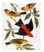 Audubon: Tanager, 1827 Tapestry