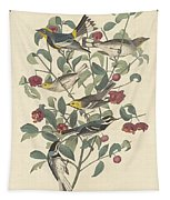 Audubon's Warbler Tapestry