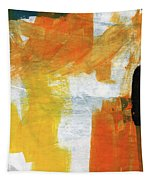 August- Abstract Art By Linda Woods. Tapestry