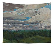 August Convection Tapestry