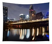 Austin From Below Tapestry