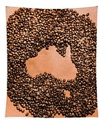 Australia Cafe Artwork Tapestry